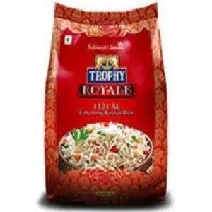 TROPHY ROYALLY EXTRA LONG BASMATHI RICE 1KG