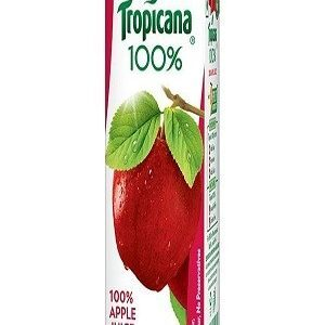 Tropicana 100 Percent Juice Apple 200 Ml Carton