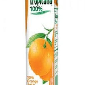 Tropicana 100% Juice Orange 1000 Ml