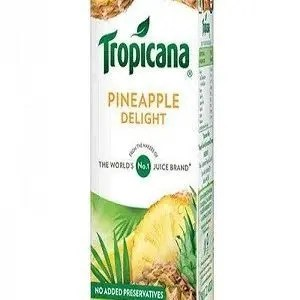 Tropicana Delight Fruit Juice Pineapple 200 Ml Carton