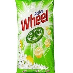 Wheel Detergent Powder Green Lemon & Jasmine 1 Kg