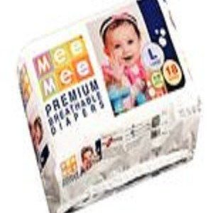 Mee Mee Premium Breathable Diapers Size – Medium, For 3-9 Kg, 20 pcs Pouch