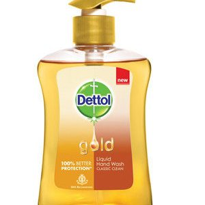 Dettol Gold Liquid Hand Wash Classic Clean 200 Ml