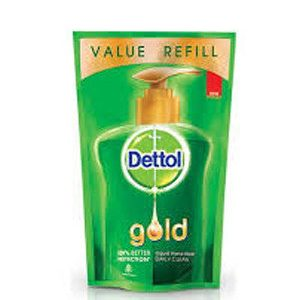 Dettol Gold Liquid Hand Wash Daily Clean 185 Ml Pack Of 2