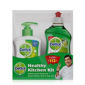 Dettol Healthy Kitchen Kit, 415 ml