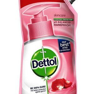 Dettol Liquid Hand Wash Skincare With Added Moisturizers 185 Ml Pack Of 2