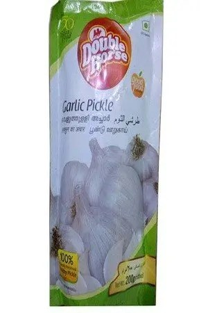 Double Horse Garlic Pickle, 200 g