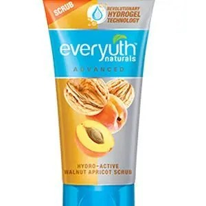 Everyuth Face Scrub Naturals Advaned Hydro Active Walnut Apricot 50 Grams