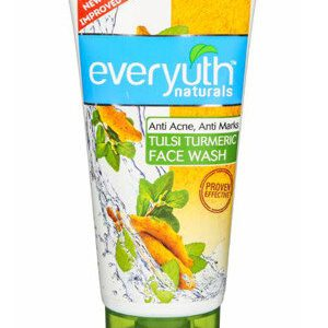 Everyuth Face Wash Tulsi Turmeric 150 Grams Tube