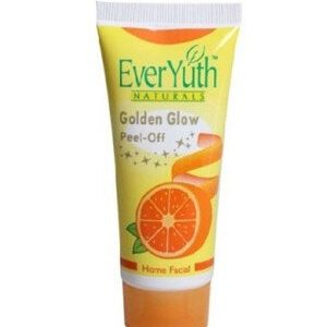 Everyuth Home Facial Cream Golden Glow Peel Off 50 Grams Tube