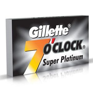 Gillette 7 O Clock Super Platinum Blades 5 Pcs Pack