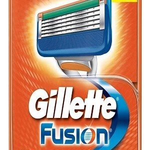 Gillette Fusion Manual Shaving Razor Blades Cartridge 4 Pcs