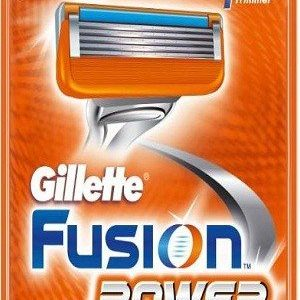 Gillette Fusion Power Shaving Razor Blades Cartridge 8 Pcs