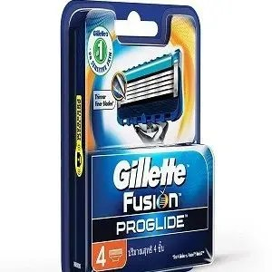 Gillette Manual Shaving Razor Blades Fusion Proglide FlexBall Cartridge 4 Pcs Pouch