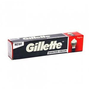 Gillette Pre Shave Cream Regular 30 Grams Carton