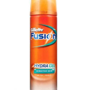 Gillette Pre Shave Gel Fusion Hydra Pure And Sensitive 195 Grams