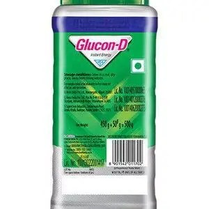 Glucon D Pure Glucose Original 500 Grams Jar