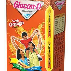 Glucon-D Pure Glucose - Tangy Orange, 100 Grams Carton