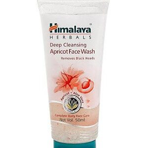 Himalaya Face Wash Deep Cleaning Apricot 50 Ml Tube