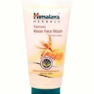 Himalaya Face Wash Fairness Kesar 50 Ml Tube