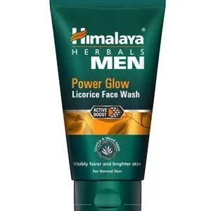 Himalaya Face Wash Men Power Glow Licorice 50 Ml Tube