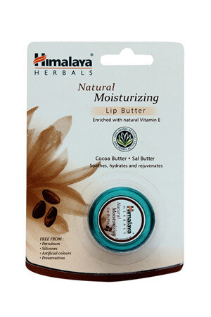Himalaya Lip Butter Natural Moisturizing 10 Grams Pouch