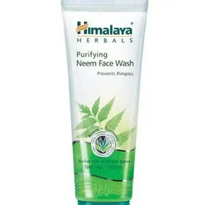 Himalaya Face Wash Purifying Neem 100 Ml Tube