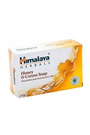 Himalaya Soap Honey And Amp Cream 125 Grams Carton