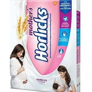 Horlicks Mothers Health And Nutrition Drink Vanilla Flavor 200 Grams Carton