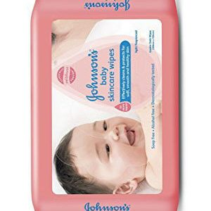 Johnson & Johnson Baby skincare wipes, 20 pcs