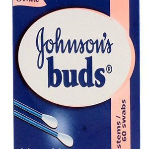 Johnson & Johnson Buds, 30 stems/60 swabs