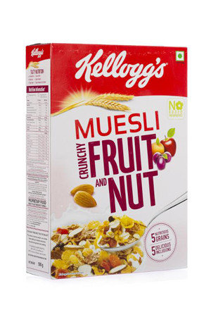 Kelloggs Muesli – Fruit & Nut, 250 gm Carton