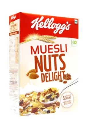 Kelloggs Muesli – Nuts Delight, 250 gm Carton
