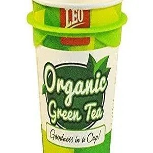 Leo Coffee Organic Green Tea Cup 120 Grams