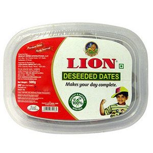 Lion Dates – Deseeded, 500 Grams Cup
