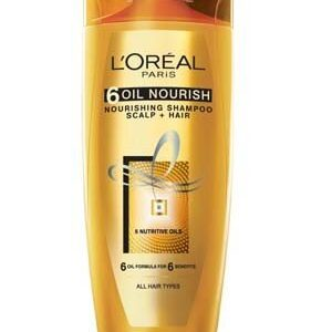Loreal Paris 6 Oil Nourish Shampoo 175 Ml Bottle
