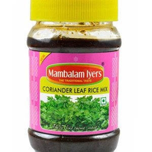 Mambalam Iyers Mix – Coriander Leaf Rice, 200 gm Bottle