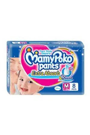 Mamy Poko Pants Style Diapers Xl, 12-17 Kg, 30 pcs