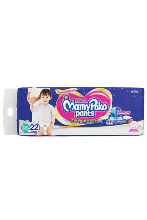 Mamy Poko Pants Style Diapers Xxl 15-25 Kg, 22 Pants