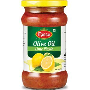 Manna Olive Oil Lime Pickles 300 Grams