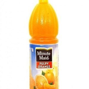 Minute Maid Fruit Drink Pulpy Orange 1 Litre Bottle