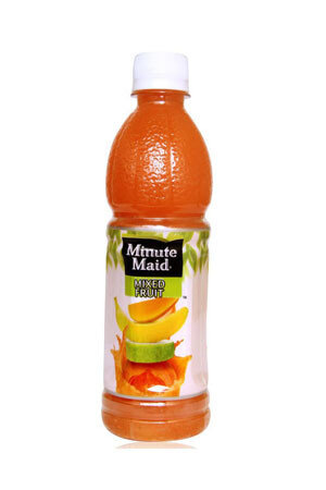 Minute Maid Fruit Juice - Mixed, 400 Ml Bottle