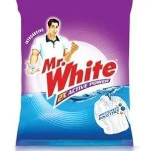 Mr. White Detergent Powder, 500 gm