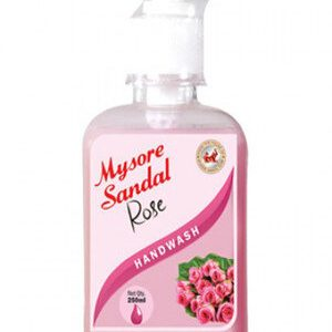 Mysore Sandal Handwash Rose 250 Ml
