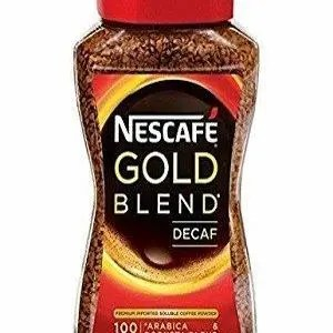 Nescafe Gold Decaffeinated 100 Grams Bottle
