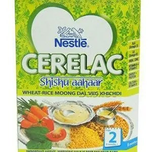 Nestle Cerelac Wheat Rice Moong Dal Veg Khichdi 8 Months Plus Stage 2 300 Grams Carton
