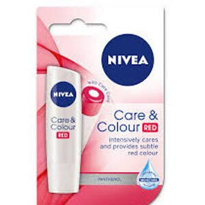 Nivea Lip Balm Care And Color Red 4.8 Grams
