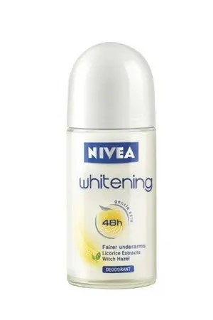 Nivea Roll On Deodorant Whitening Smooth Skin 50 Ml Bottle