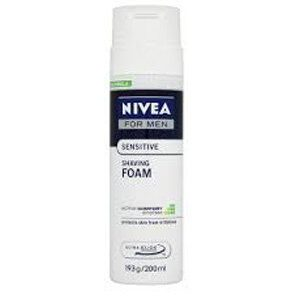 Nivea Shaving Foam Sensitive For Men 200 Ml