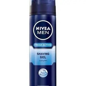 Nivea Shaving Gel Fresh Active 200 Ml